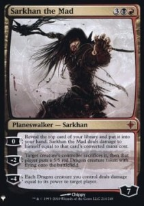 Sarkhan the Mad FOIL