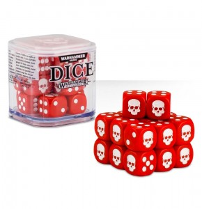 Citadel 12 mm Dice Cube - RED